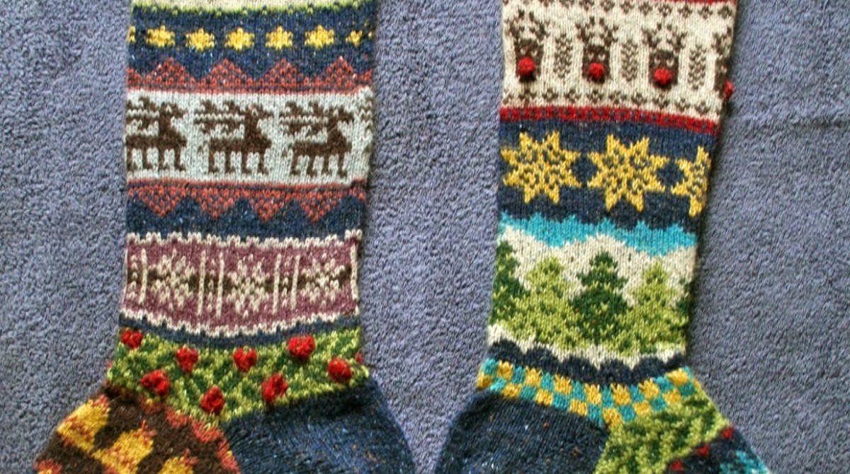 Festive fair isle christmas stockings make article featured image bankloansurffo Choice Image