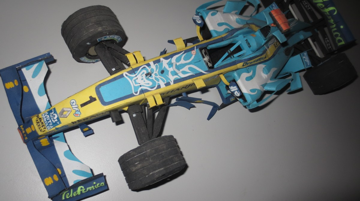 The Incredible Paper Race Cars of Paul Bischof