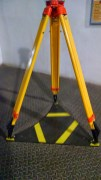 Where ever you go, you always find a surveyor tripod. :D