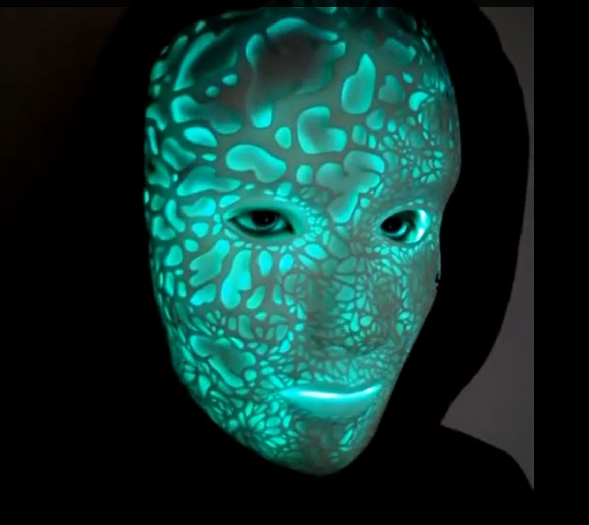 """Lumecluster """"Nightmare"""" Mask Lives up to Its Name"""