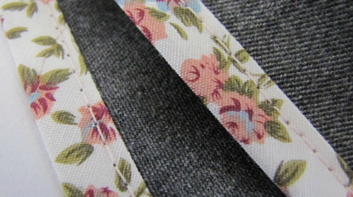 Sewing Tips: Sew Bias Binding with a Sewing Machine