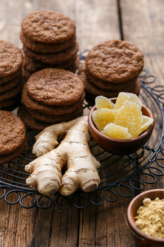 Triple Ginger Snaps Recipe
