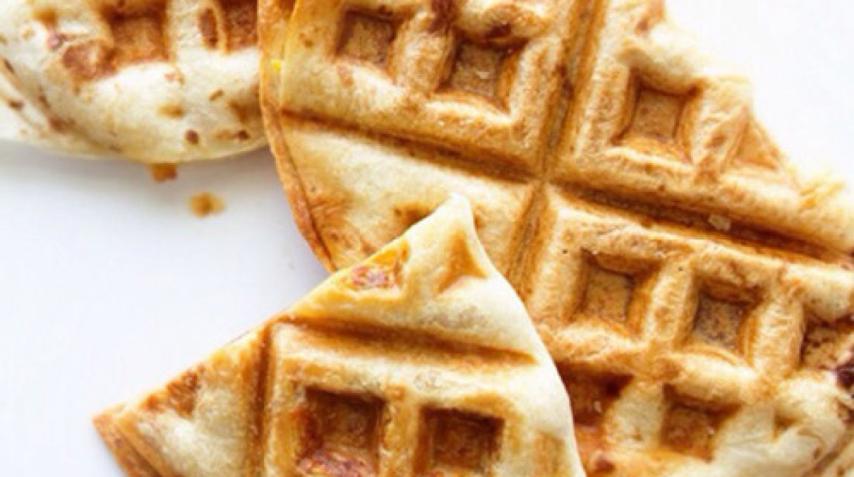 Recipe: Waffle Your Breakfast Quesadilla