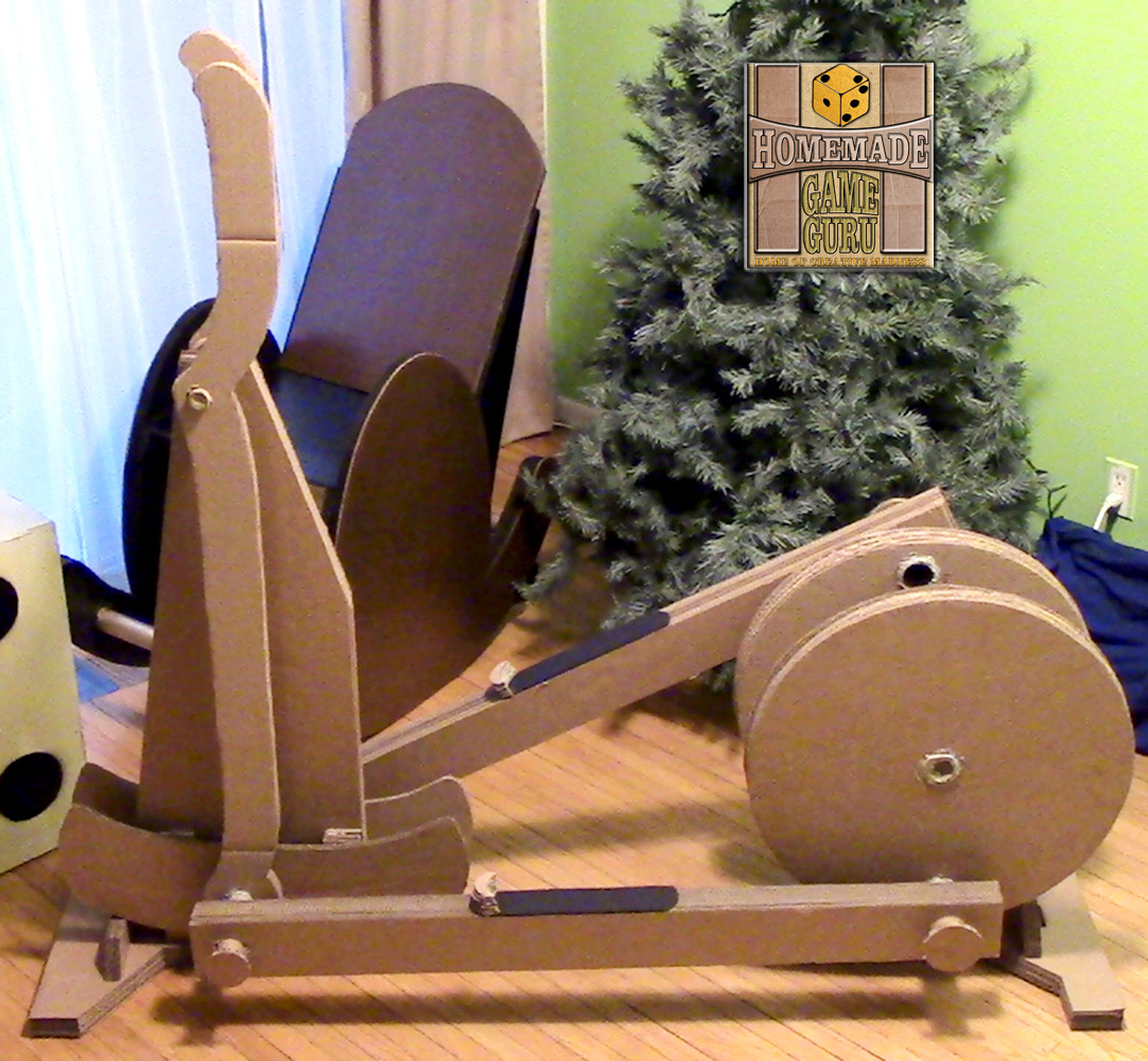 Cardboard Elliptical Workout Machine: Pushing the Boundaries of Cardboard Invention