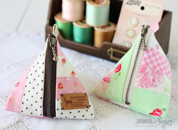 How-To: Triangle Pouch
