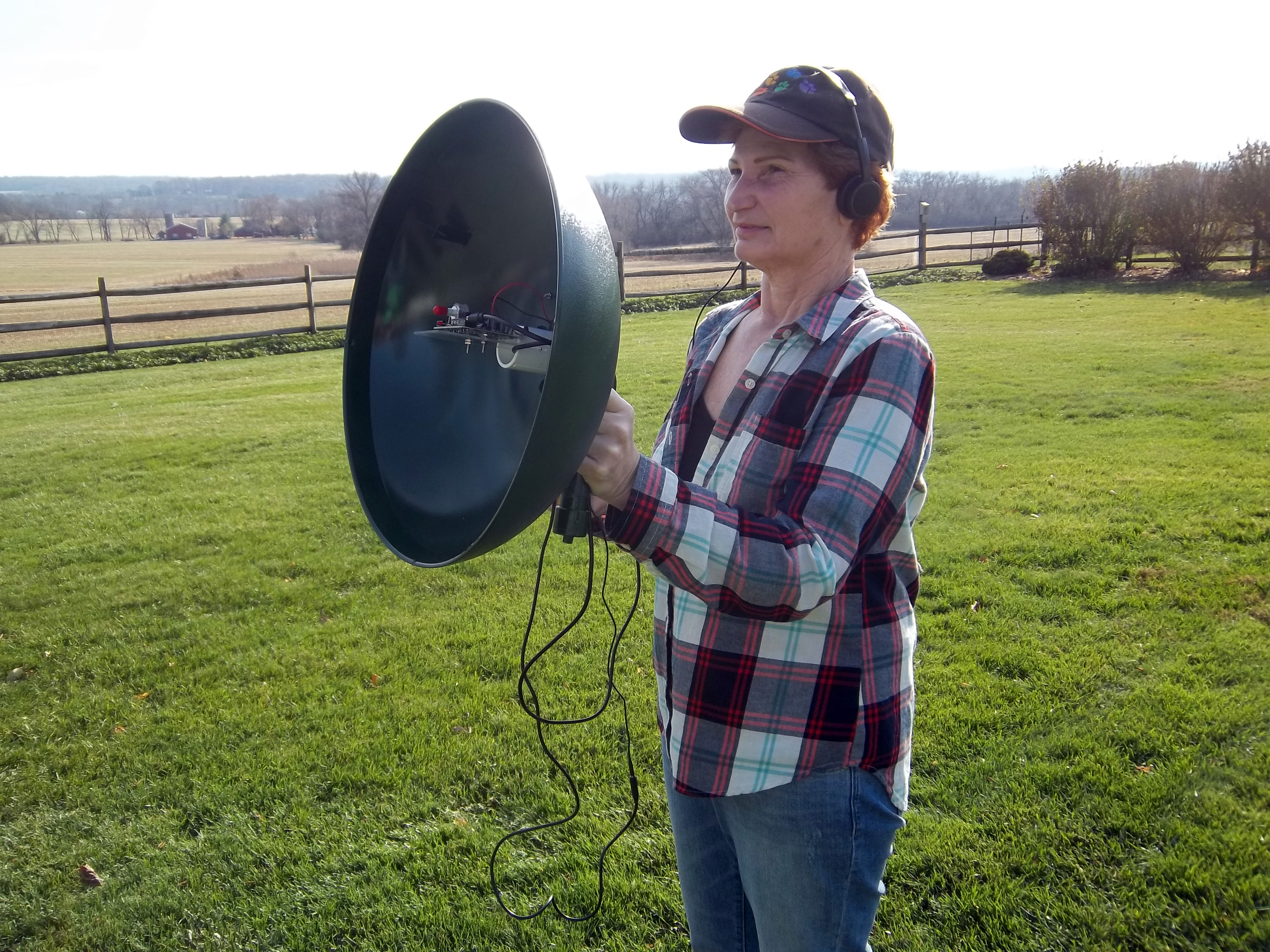Squirrel Baffle Spy Parabolic Microphone Make How To Build Ear