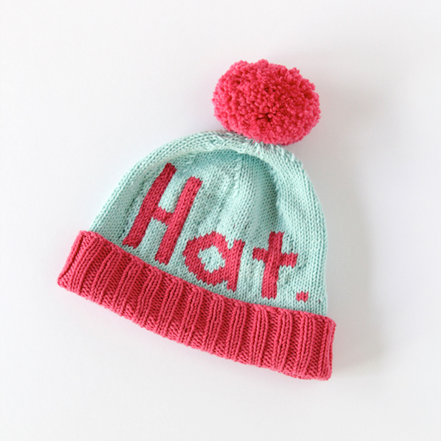 "How-To: Knit a ""Hat"" Hat"