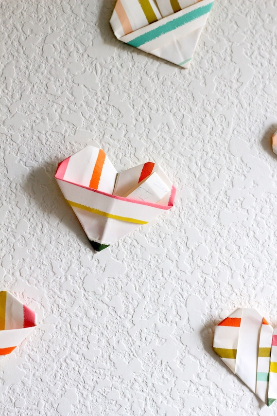 How-To: Origami Heart Valentines
