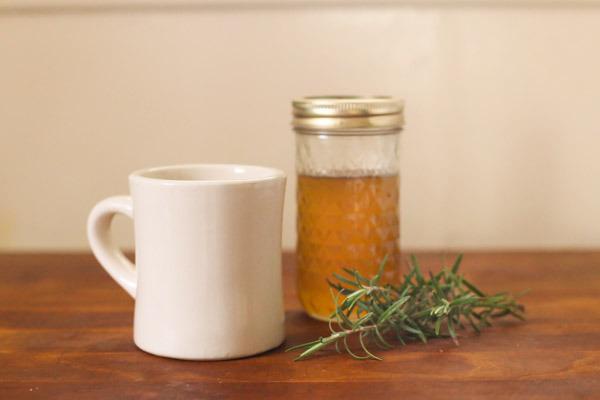 Recipe: Rosemary, Vanilla, and Honey Coffee Syrup