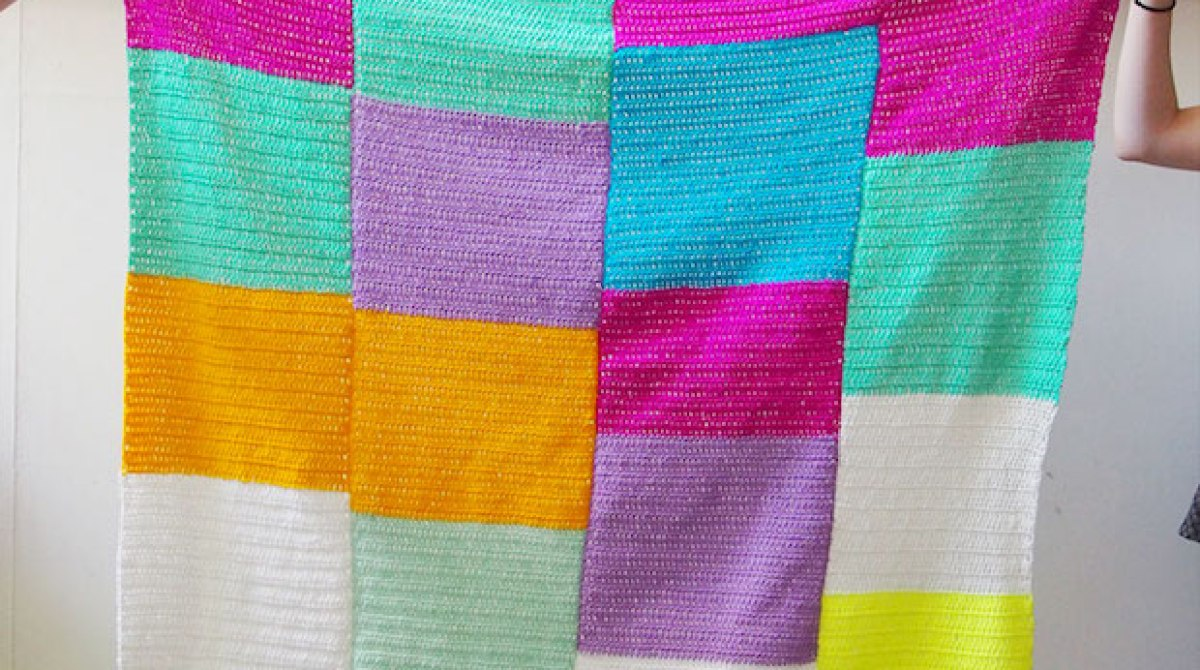 How-To: Crocheted Age Before Beauty Blanket