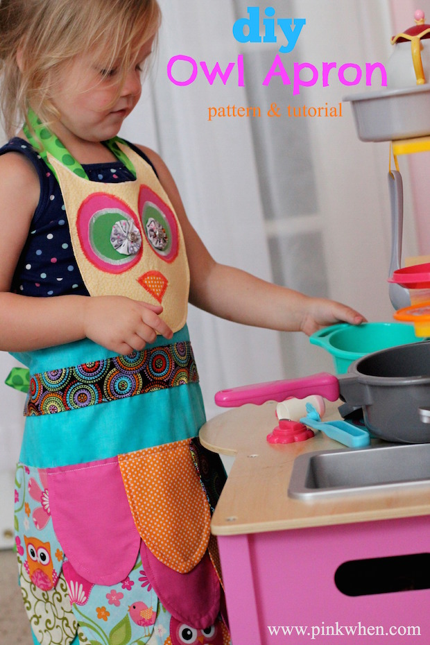 How-To: Kid-Sized Owl Apron