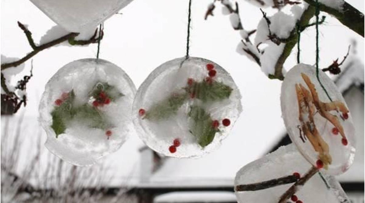 Kid Crafts: Ice Ornaments