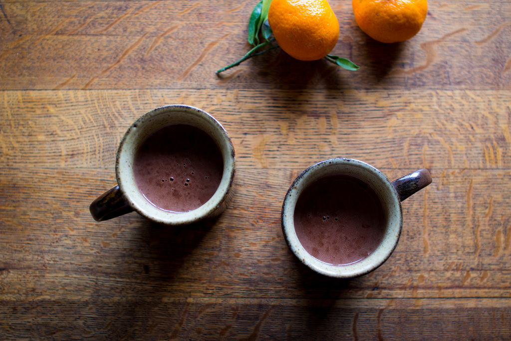 Homemade Sipping Chocolate