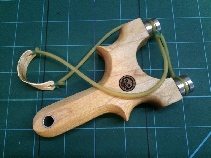 Building a High Quality Slingshot with Rotating Bearings
