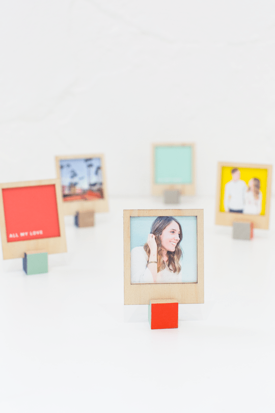 How-To: Wooden Polaroid Holders