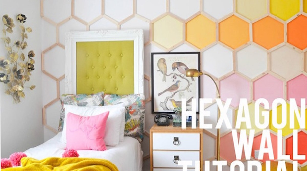 How-To: Honeycomb Hexagon Wall