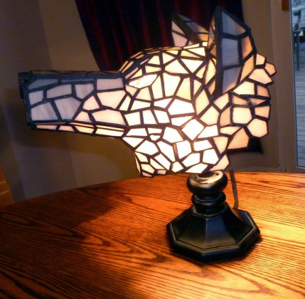 Princess Mononoke Wolf Lamp