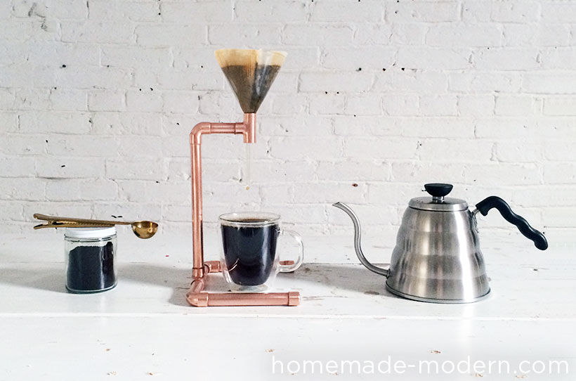 DIY Copper Pipe Coffee Maker | Make: