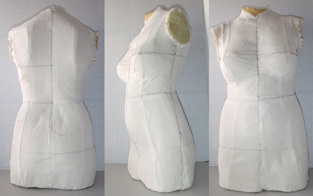 How To: Cast Your Own Body Double Dress Form