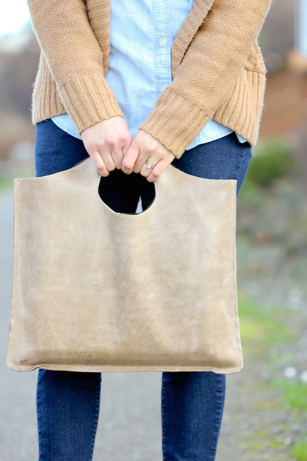 How-To: 4-Step Leather Tote