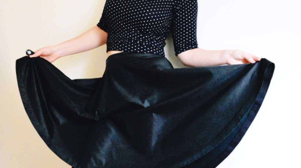 Wardrobe Basics: Sew a 3/4 Circle Skirt