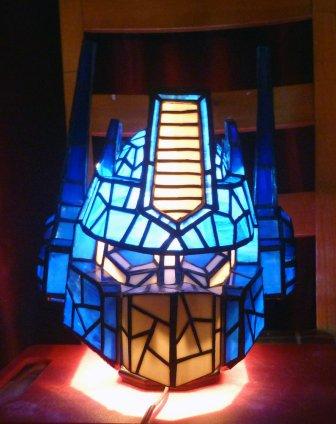 Optimus Prime Lamp