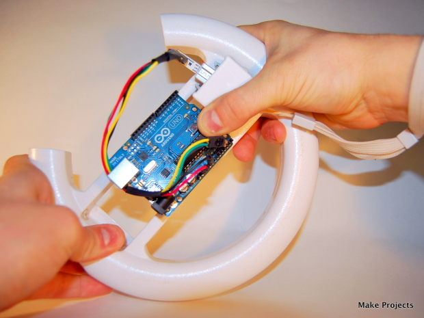 Hacking the Wii MotionPlus to Talk to the Arduino This project shows you how to make an Arduino microcontroller talk to a hacked Wii MotionPlus 3-axis gyroscope.