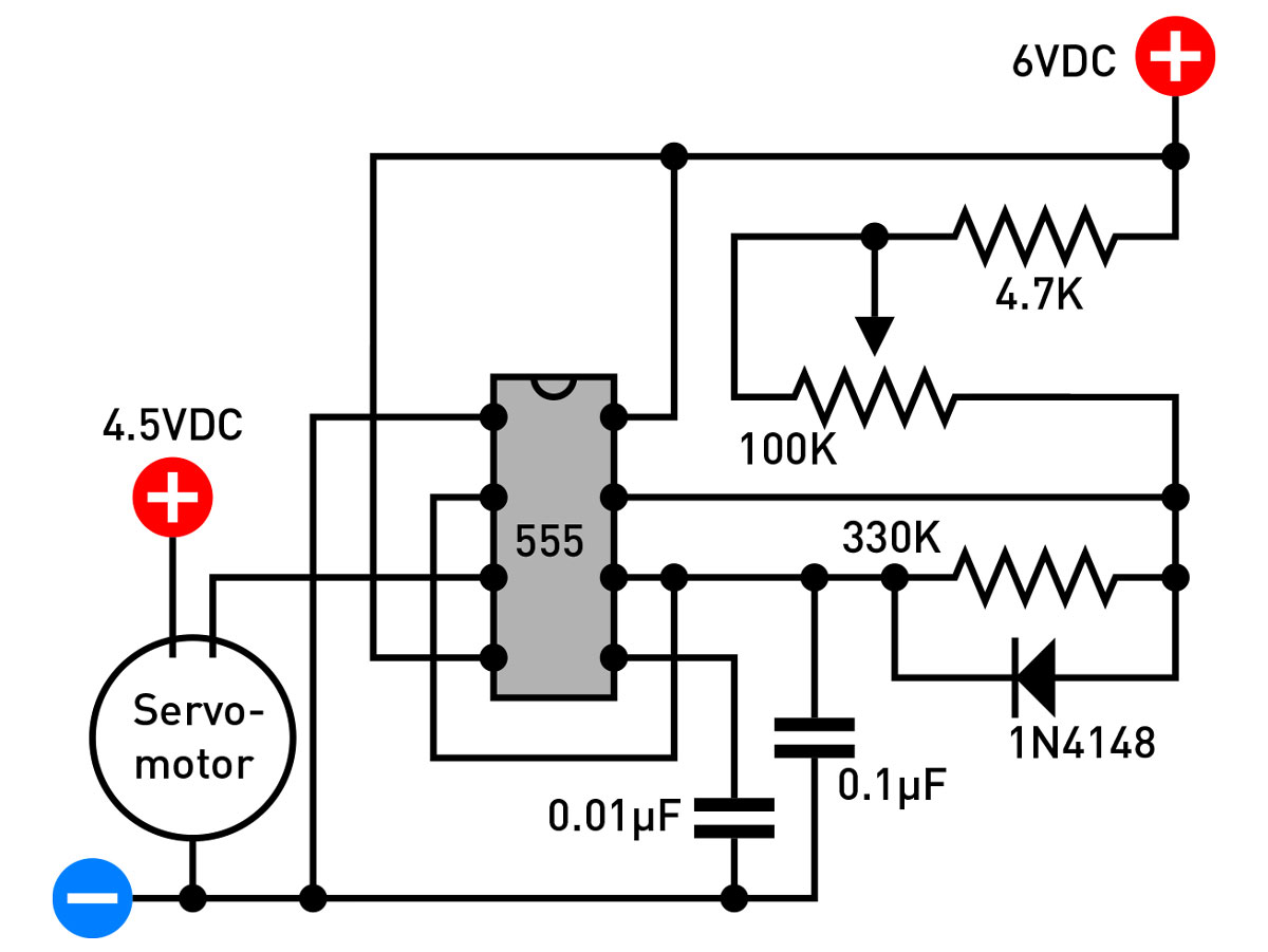 Your Obedient Servo Make Motor Diagram Figure D The Bench Testing Schematic