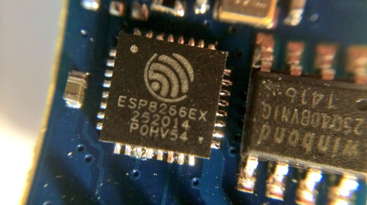 Esp8266 This 5 Microcontroller With Wi Fi Is Now Arduino Diy Printed Circuit Board Iot And Other Quotthingsquot Article Featured Image
