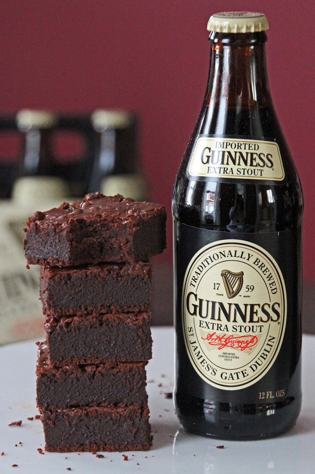 Guinness Extra Stout Brownie Recipe