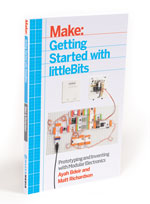 This article is an excerpt from Make: Getting Started with littleBits. Get your copy in the Maker Shed today.