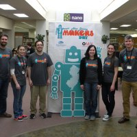 The NJ Makers Day team at the Piscataway Public Library.