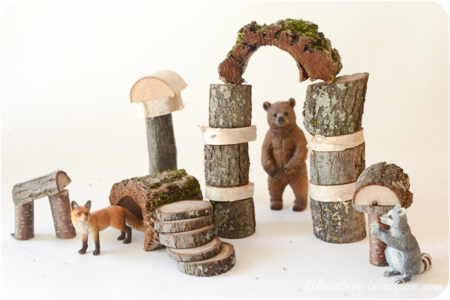 Twigs into Toys: Build Your Own Rustic Building Blocks