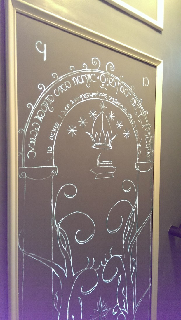 Speak Friend And Enter This Hidden Lord Of The Rings Door