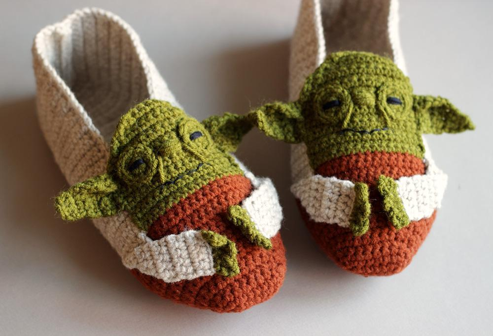 Babys First Crocheted Yoda Outfit Fashion Make