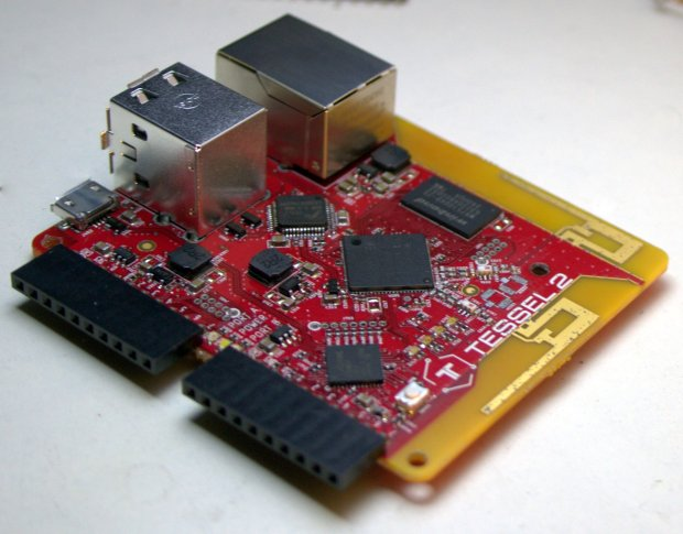 The new Tessel 2 board from Technical Machine.