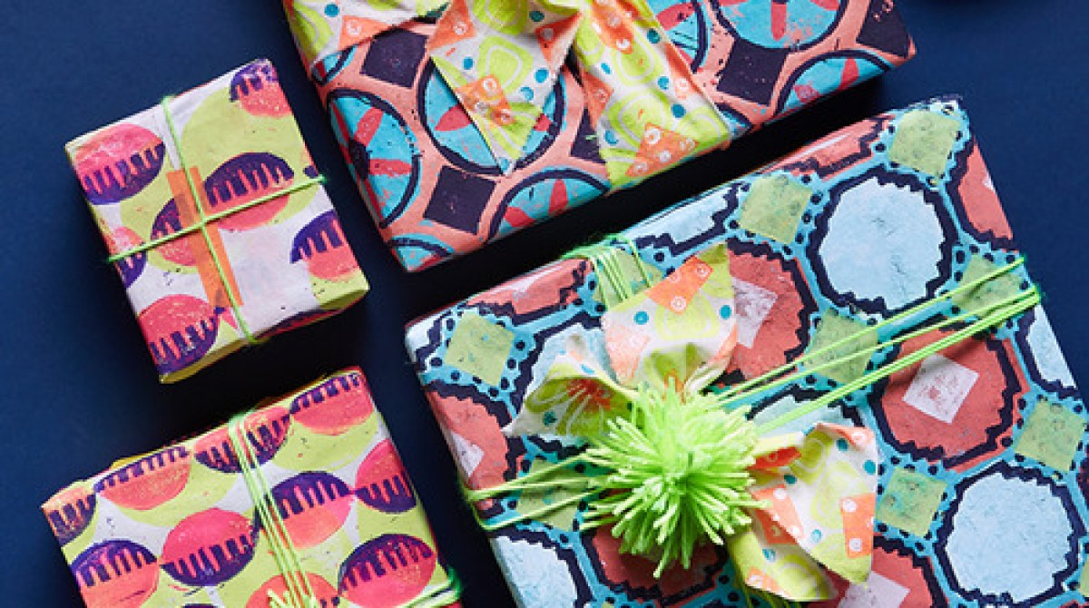 Pattern Play: Dutch Wax-Inspired Paper Printing
