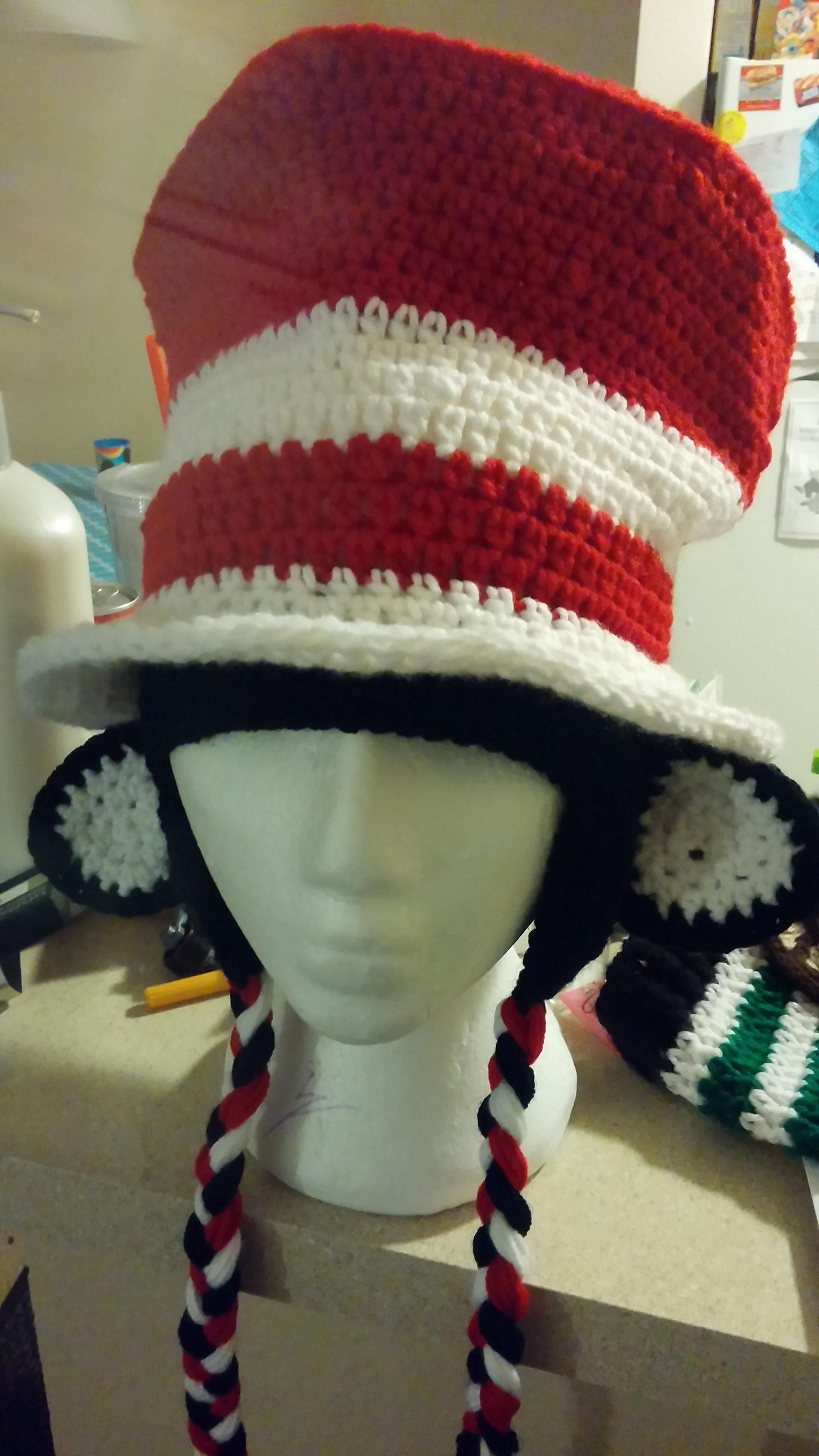 The Cat In The Hat In Crochet | Make: