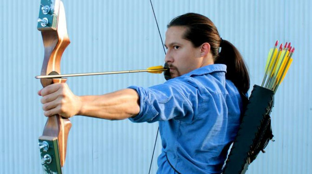 Make a Collapsible Archery Bow from Old Skis | Make: