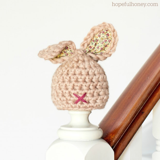 Easter Adorable: Crocheted Newborn Bunny Hat