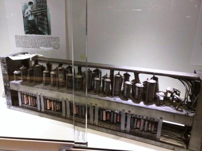 The EDSAC II circa 1958 on display in the Lab.