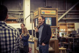 Maker Media CEO Gregg Brockway gives a quick talk on drones and the current issue of Make: