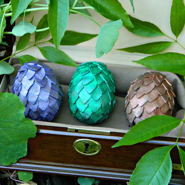 Easter Geek Craft: Game of Thrones-Inspired Dragon Eggs