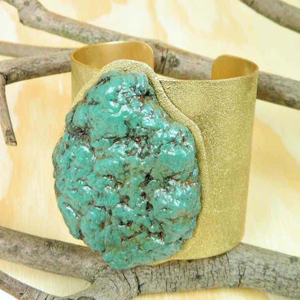 DIY Paper Turquoise That Looks Just like the Real Thing!