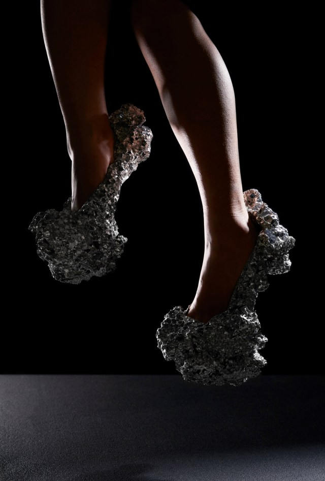 Out of this World: Milling Meteorite Shoes from Aluminum Foam