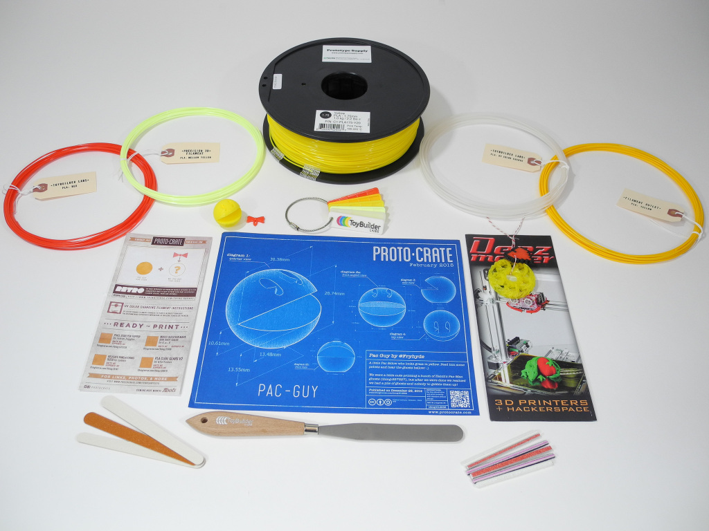 Keep Your Print Supplies Fresh With This Filament-Of-The-Month Club