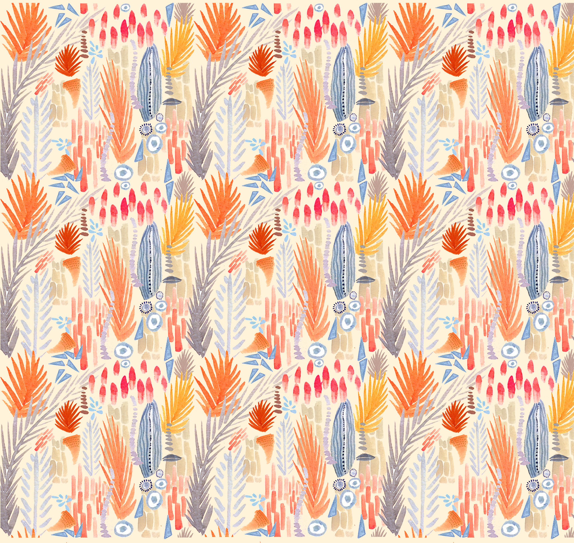 Turn Your Sketchbook Doodles Into a Digital Repeating Pattern