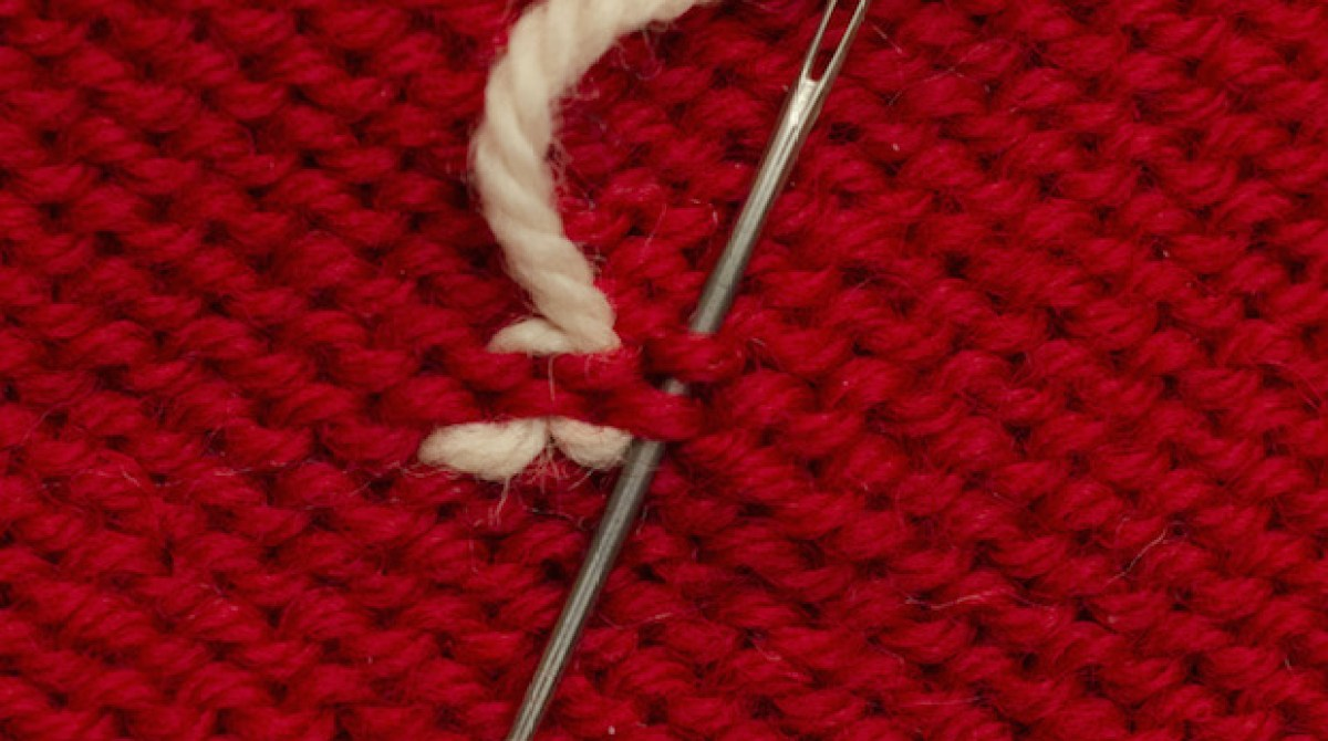 Knitting Tips: 3 Ways to Weave in Ends