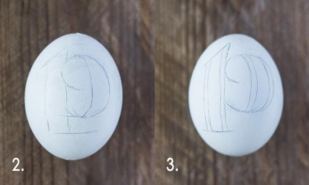Easter Egg Lettering