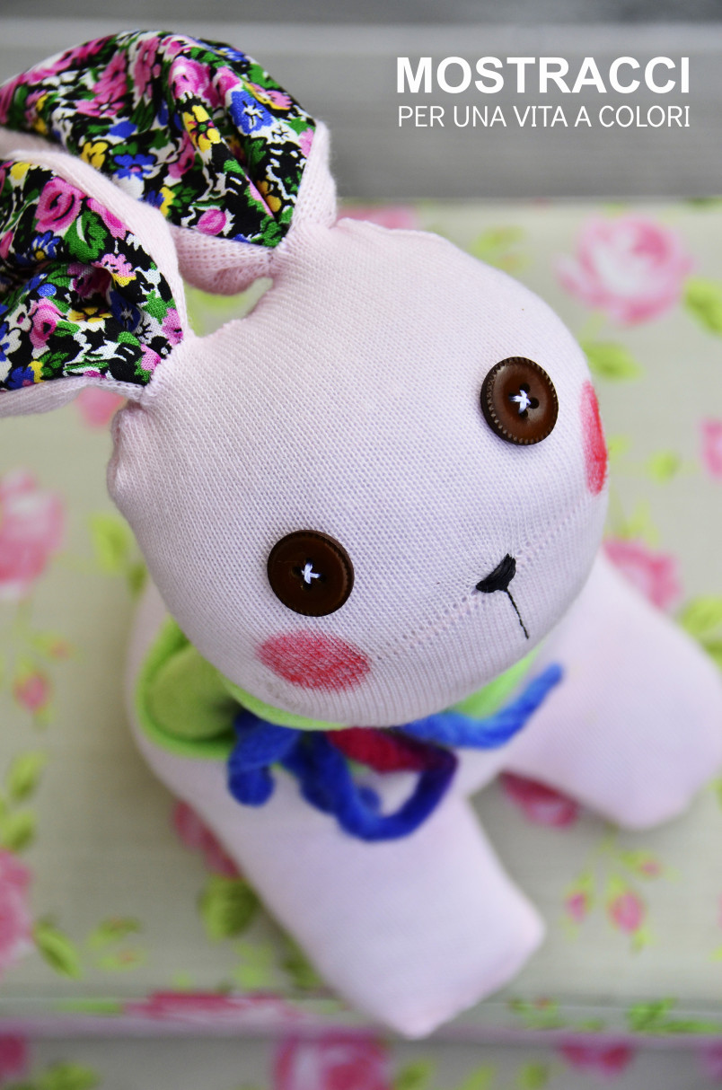 Make A Stuffed Easter Bunny From Old Socks Make